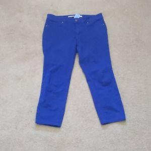 2 for $20 /Brody jeans midi length Capri - size 30